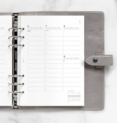 Minimal Week to View Vertical Diary - A5 2022