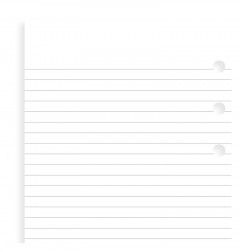 White Ruled Notepaper Value Pack