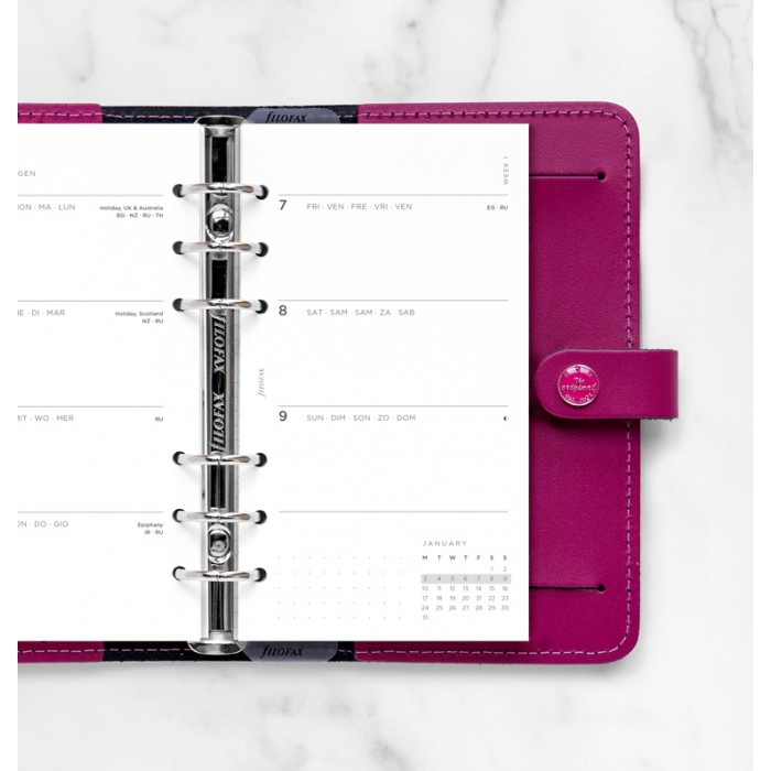 Minimal Week to View Diary - Personal 2022