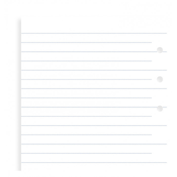 Clipbook Ruled Notepaper Refill