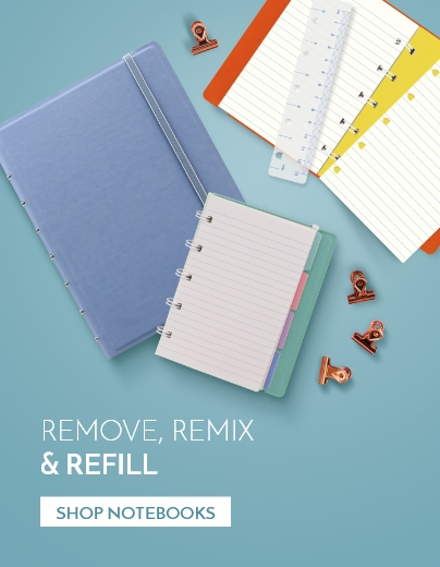 Refillable Notebooks by Filofax